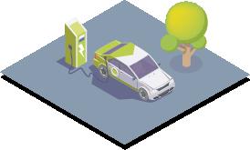 Stazioni ricarica - Ceress - Comunità energetiche rinnovabili